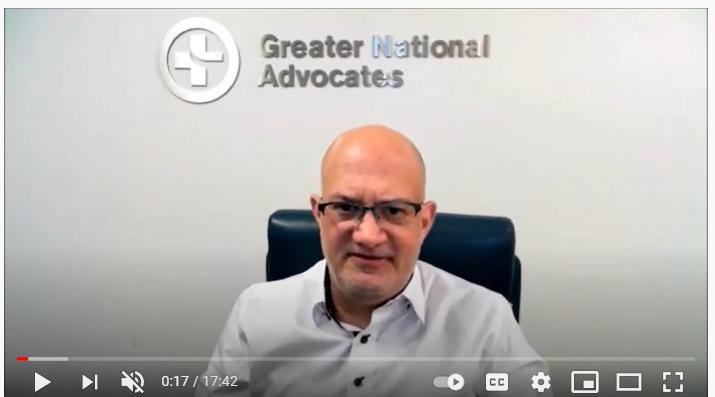 L. Bradley Schwartz Greater National Advocates  December 2020